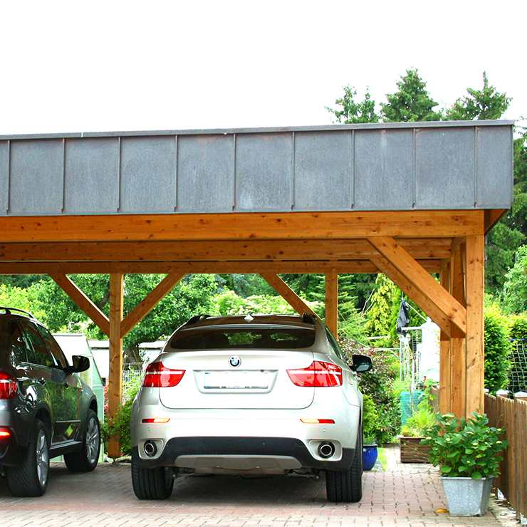 Carport Konstruktion